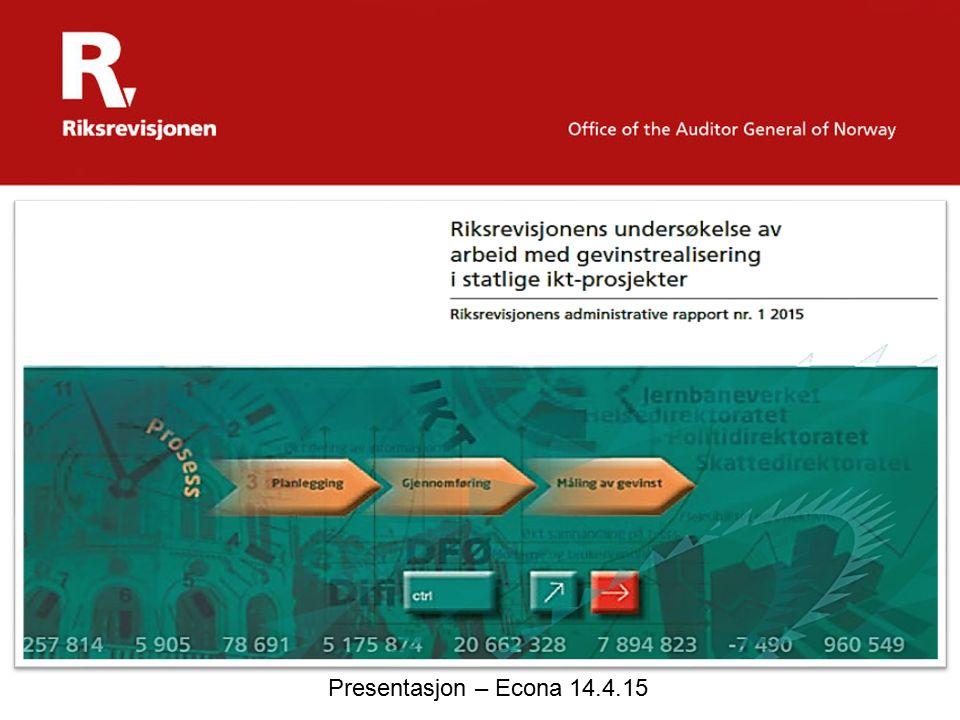 Presentasjon – Econa 14.4.15