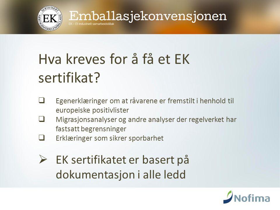 EKs organisasjon  Årsmøtet (medlemmene – 116 i 2015)  Styret (5 eksterne + sekretariatsleder)  EK sekretariatet på Nofima (3 personer)  Medlemmene styrer selv EKs virksomhet
