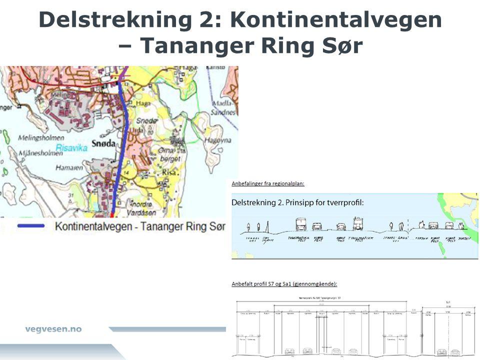 Delstrekning 2: Kontinentalvegen – Tananger Ring Sør