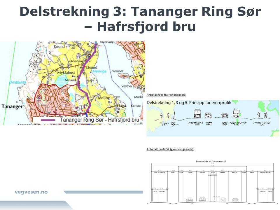 Delstrekning 3: Tananger Ring Sør – Hafrsfjord bru
