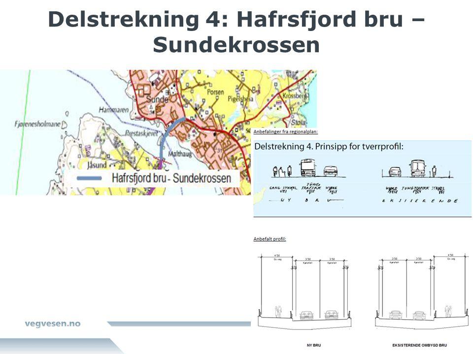 Delstrekning 4: Hafrsfjord bru – Sundekrossen
