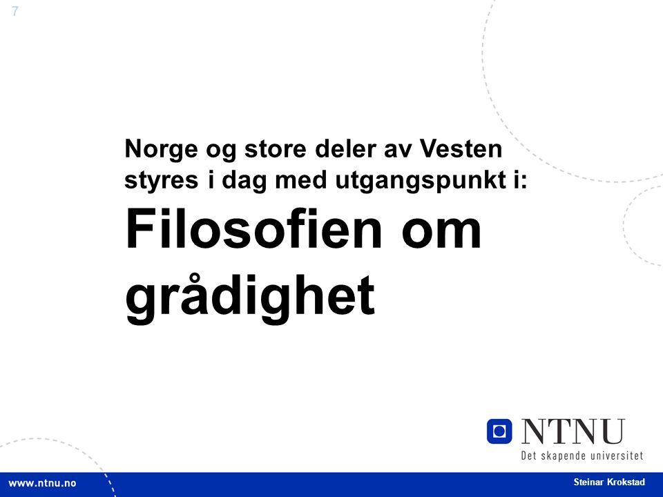 8 Steinar Krokstad Blåblå tider.- hva bringer de med seg.