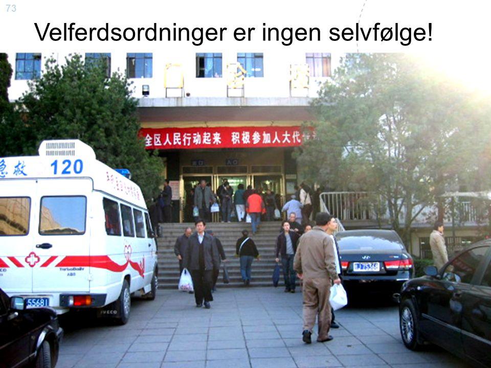 73 Steinar Krokstad Velferdsordninger er ingen selvfølge!
