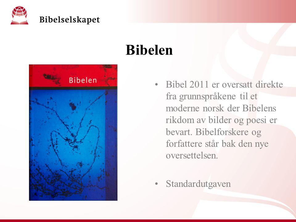 Bibelen Bibel 2011 er oversatt direkte fra grunnspråkene til et moderne norsk der Bibelens rikdom av bilder og poesi er bevart.