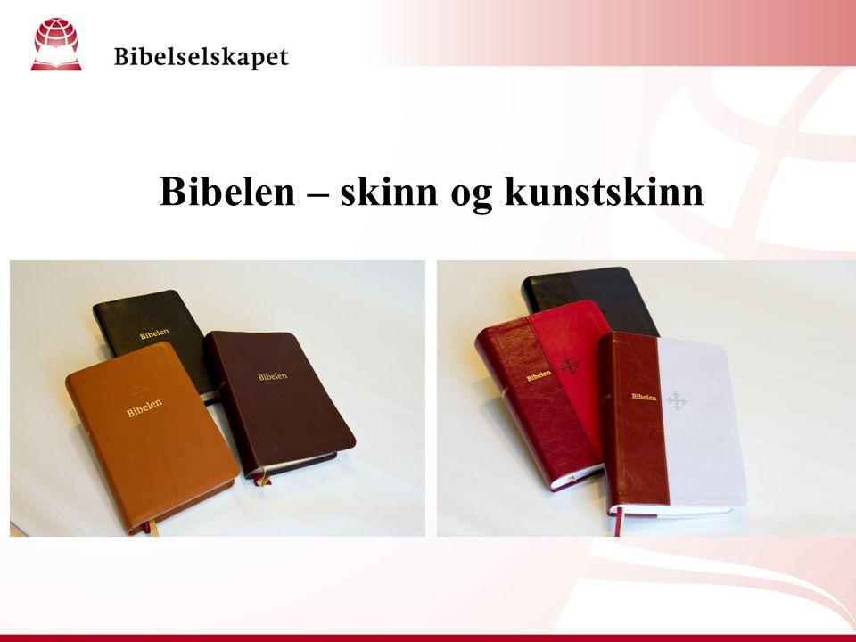 Bibelen – skinn og kunstskinn