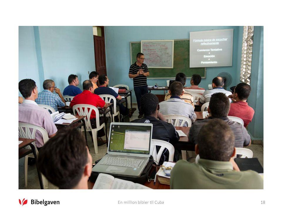 En million bibler til Cuba18