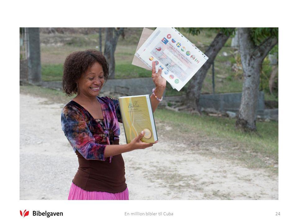 En million bibler til Cuba24