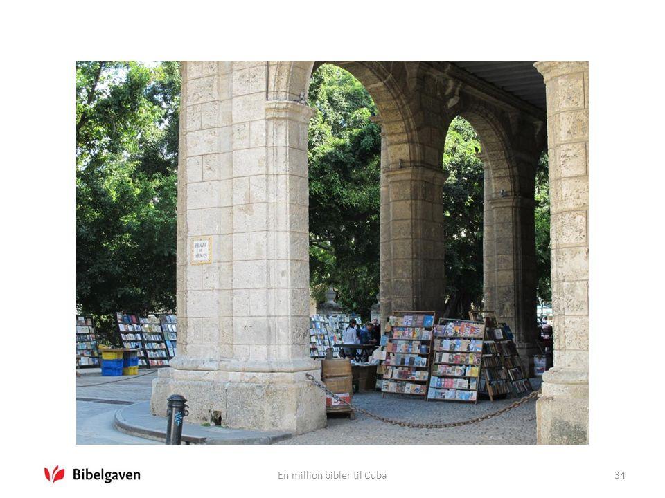 En million bibler til Cuba34