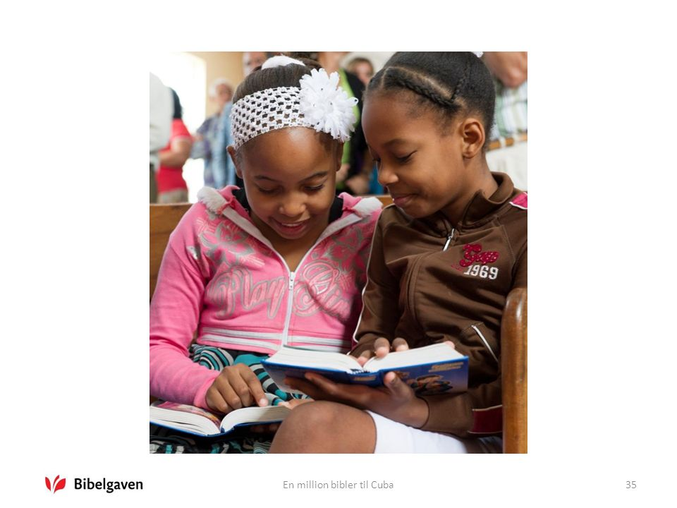 En million bibler til Cuba35