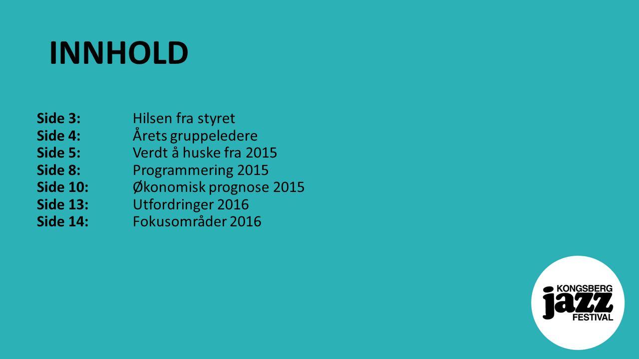 Utfordringer og muligheter for 2016 Nytt kulturhus Samlokalisering med kino, Glogerfestspillene og Energimølla Nytt bevegelsesmønster i byen.