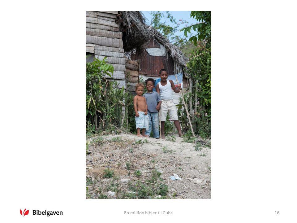 En million bibler til Cuba16