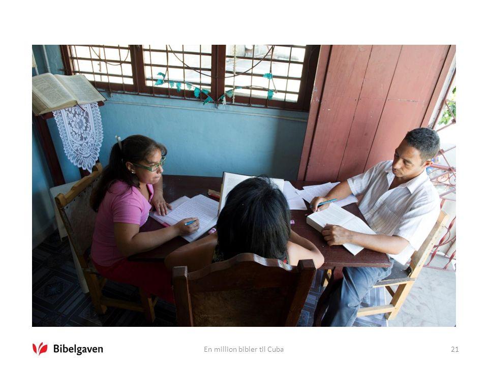 En million bibler til Cuba21