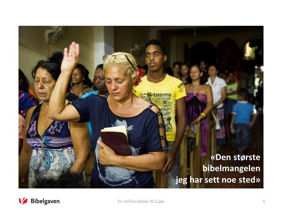5 «Den største bibelmangelen jeg har sett noe sted»