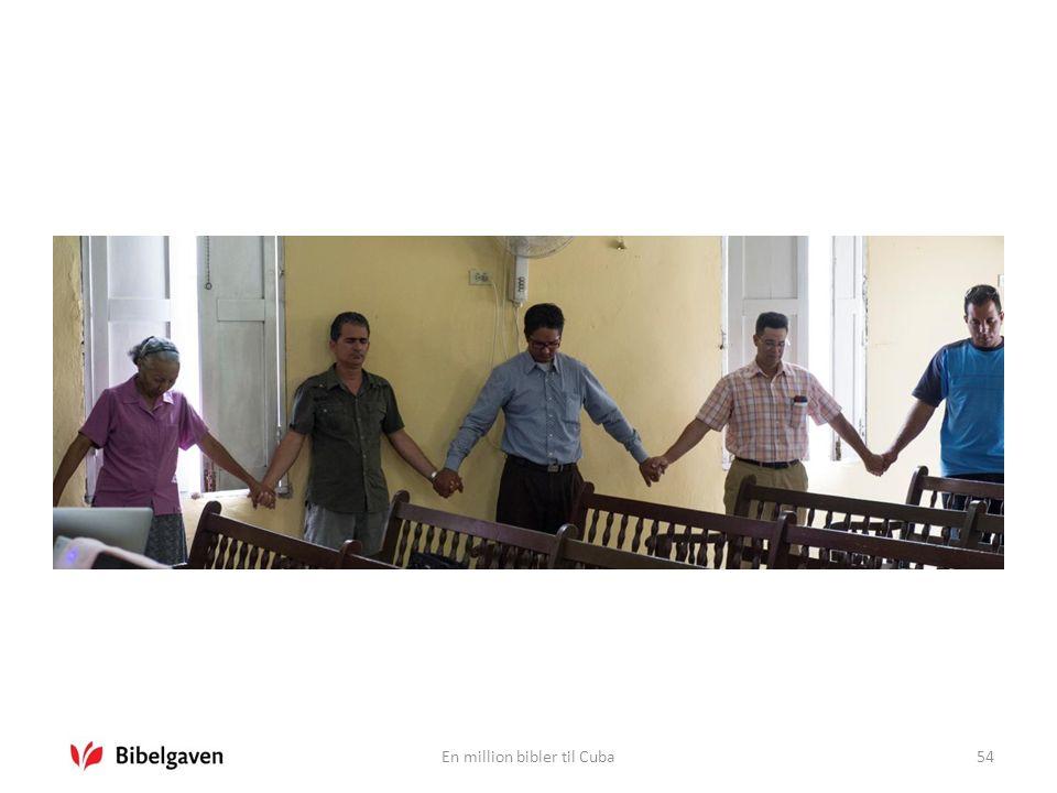 En million bibler til Cuba54