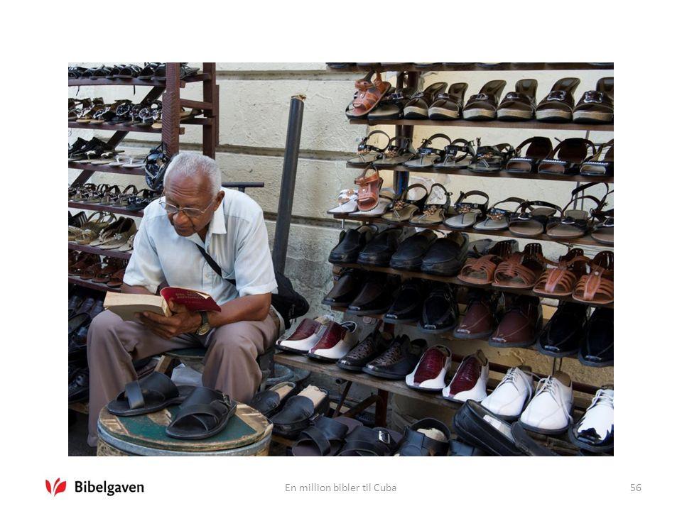 En million bibler til Cuba56