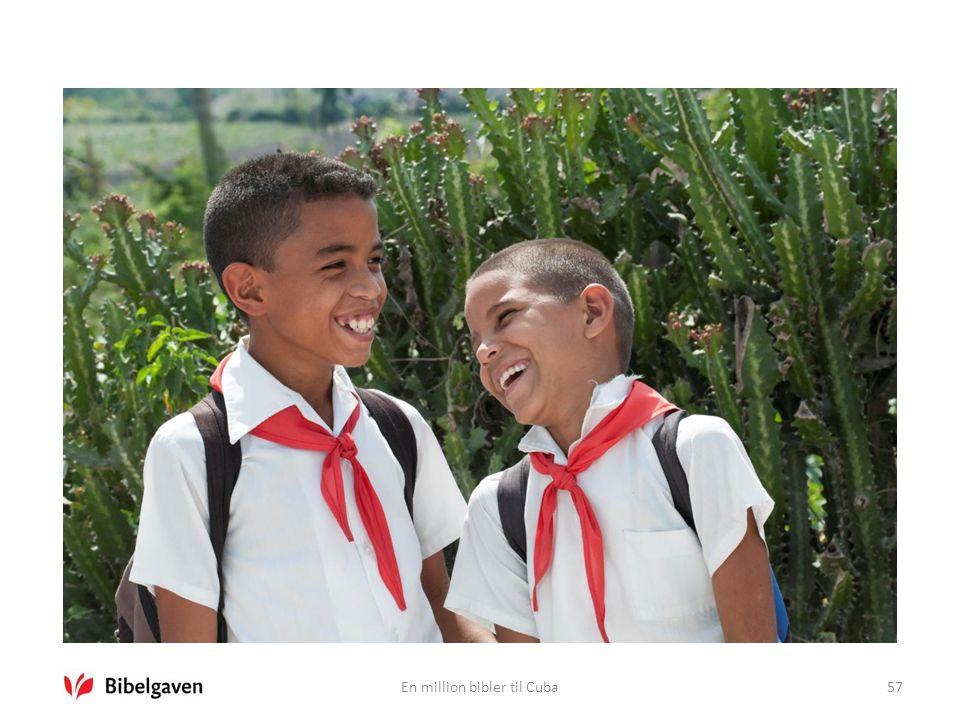 En million bibler til Cuba57