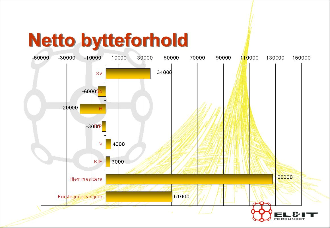 Netto bytteforhold