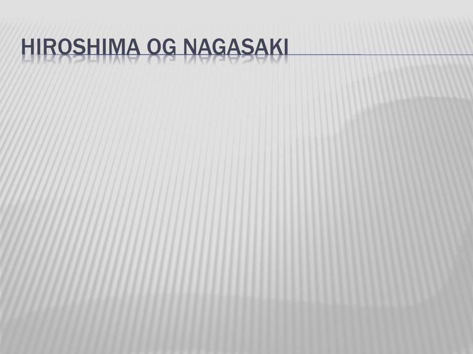 Nagasaki like etter bombingen.