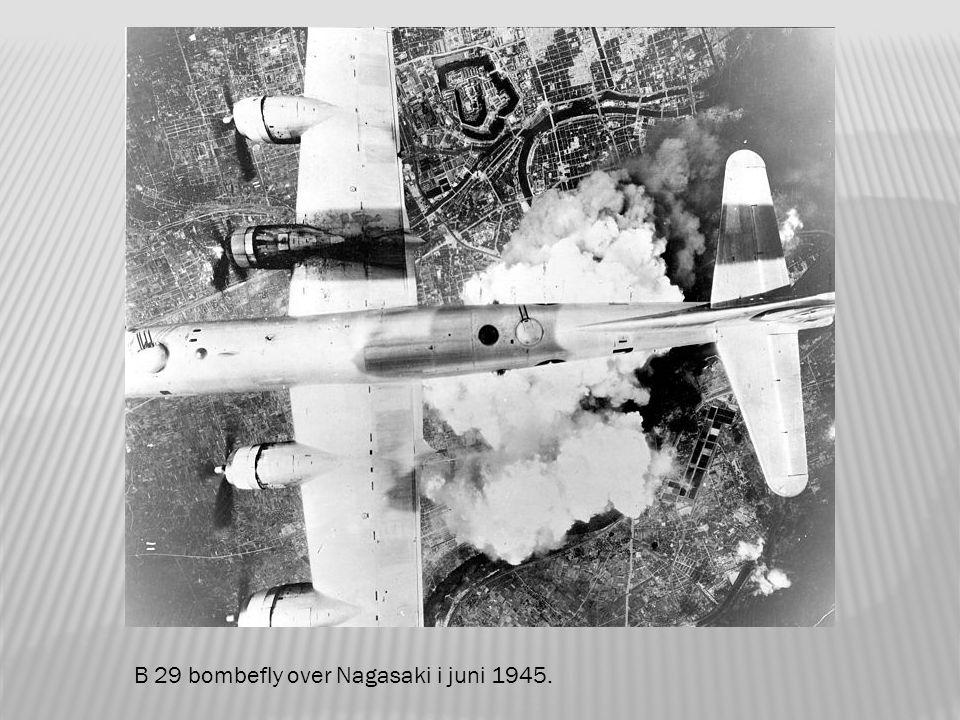 Forventet ødeleggelse av en atombombe.