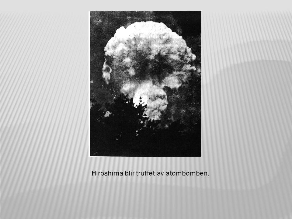 Klokken 8.15 ble Little Boy sluppet av bombeflyet Enola Gay og eksploderte 580 meter over bakken.
