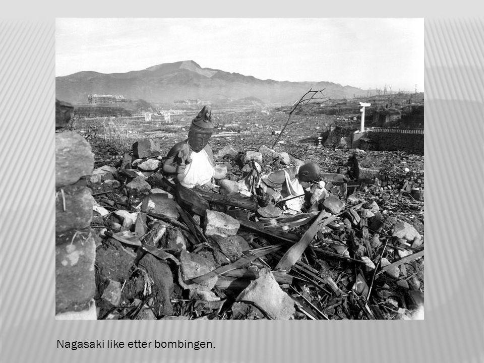 Bombeflyet Bockscar skulle egentlig gått til Kokura, men byen var dekket av skyer og røyk.