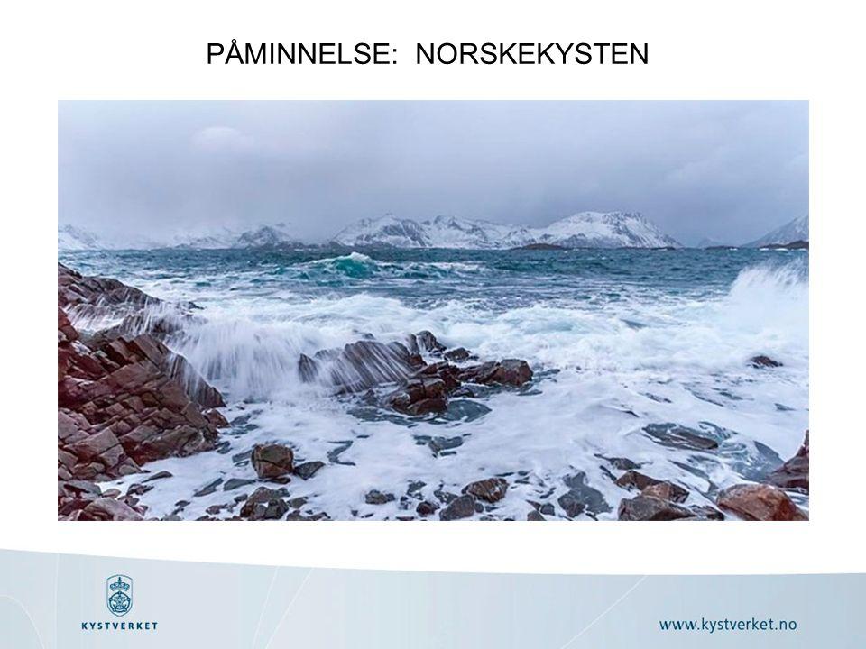 PÅMINNELSE: NORSKEKYSTEN