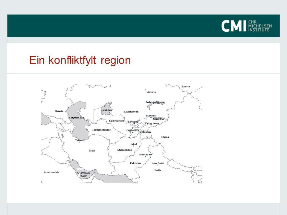 Ein konfliktfylt region