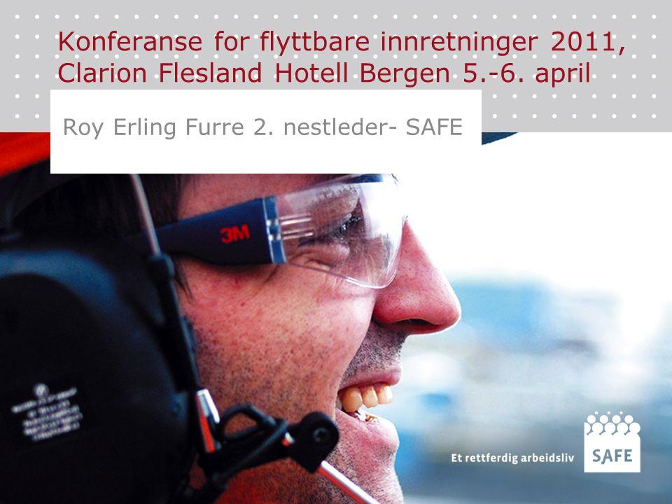 Konferanse for flyttbare innretninger 2011, Clarion Flesland Hotell Bergen 5.-6.
