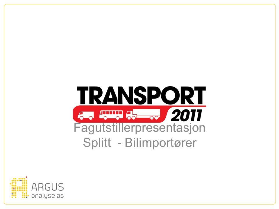2011 Fagutstillerpresentasjon Splitt - Bilimportører