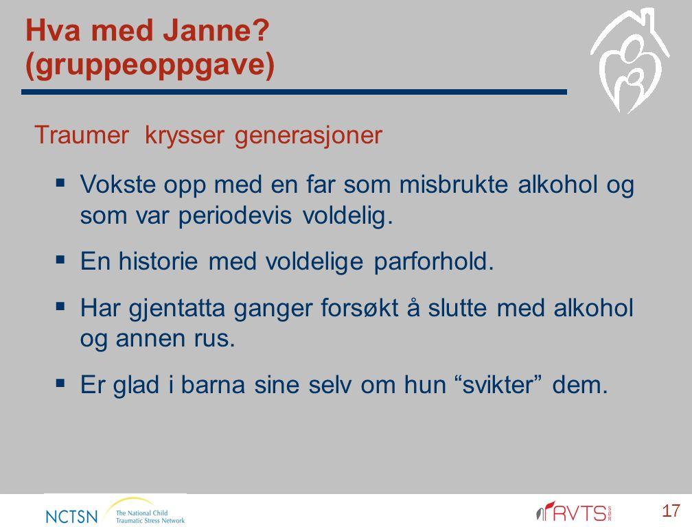 17 Hva med Janne.