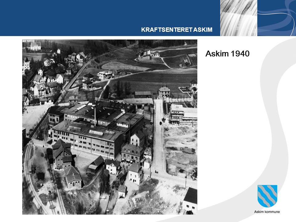 KRAFTSENTERET ASKIM Askim 1940