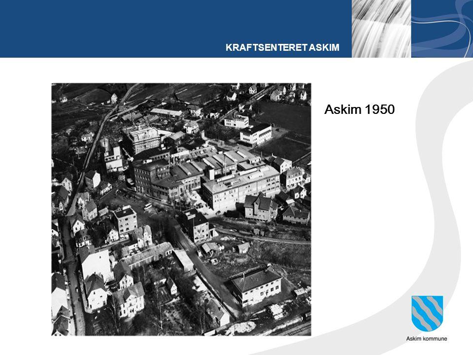 KRAFTSENTERET ASKIM Askim 1950