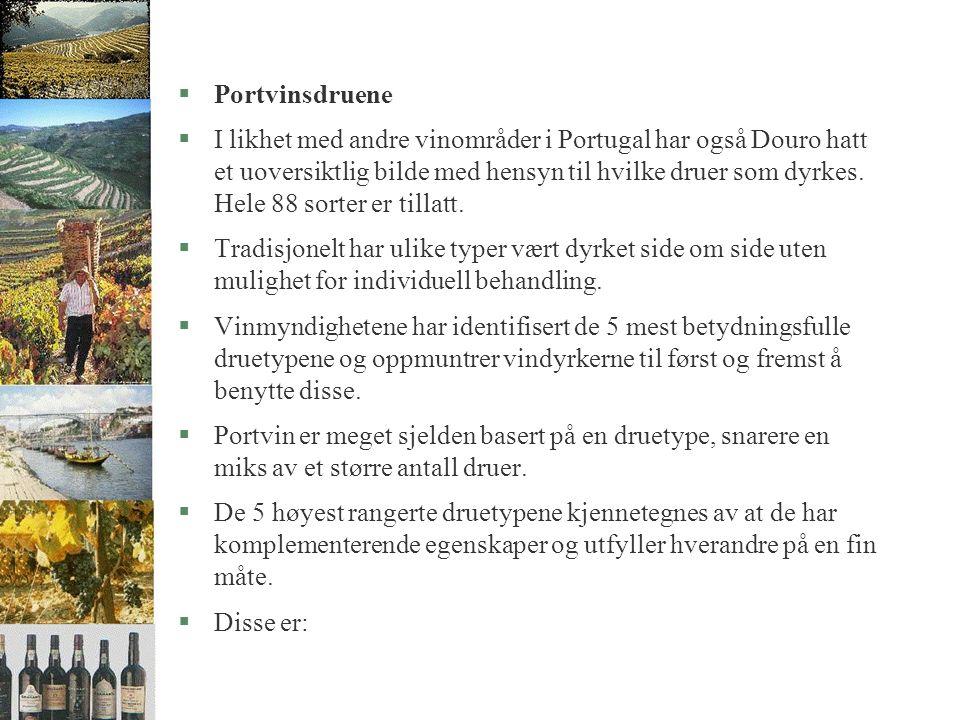 §Ytterligere mot øst finner vi §Douro Superior.