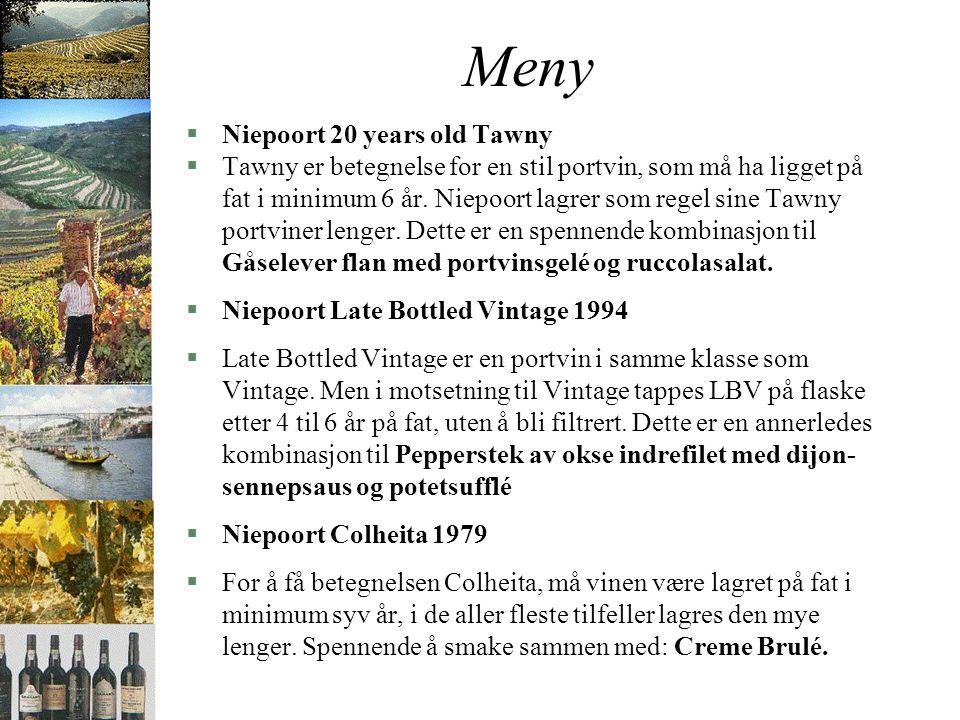 Niepoort Vinhos sa §Den unge Dirk van der Niepoort har nå tatt over driften av huset Niepoort.