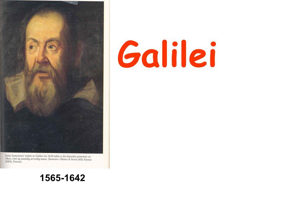 Galilei 1565-1642