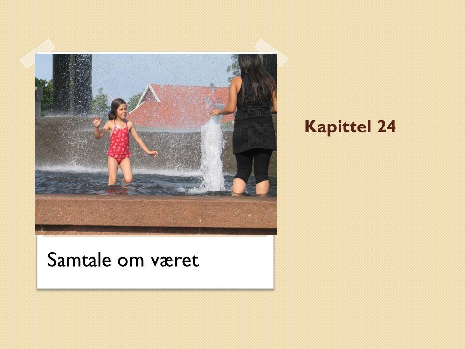 Kapittel 24 Samtale om været