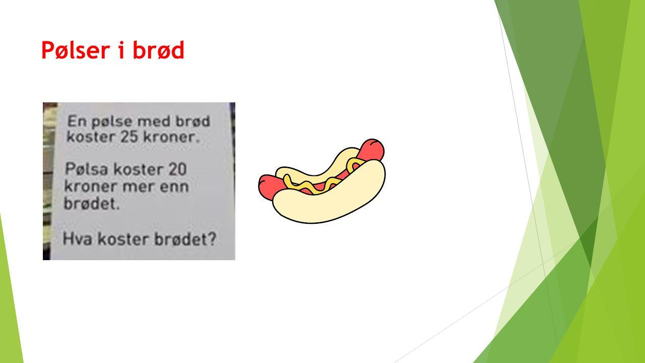 Pølser i brød