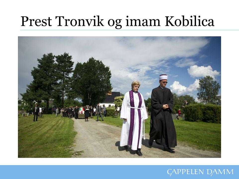 Prest Tronvik og imam Kobilica