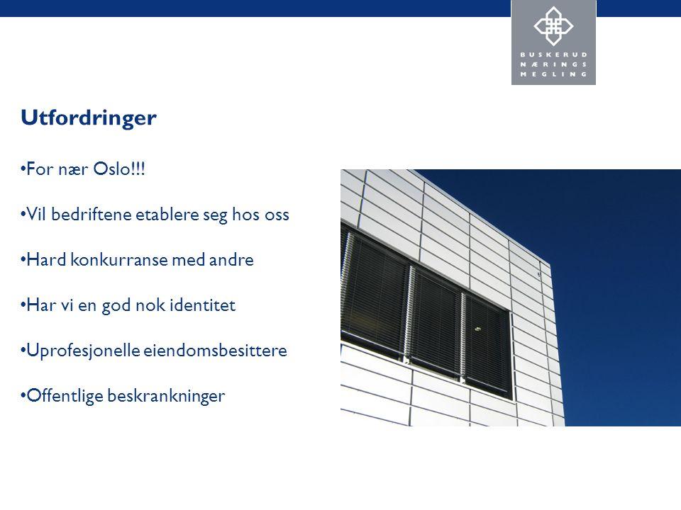 Utfordringer For nær Oslo!!.