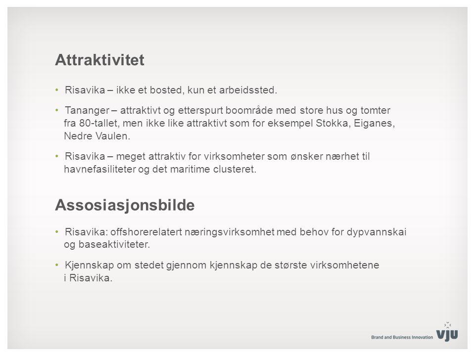 Attraktivitet Risavika – ikke et bosted, kun et arbeidssted.