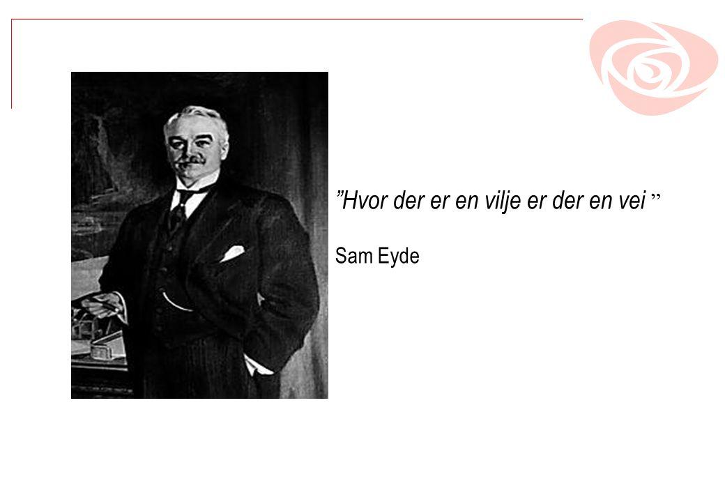 Hvor der er en vilje er der en vei Sam Eyde