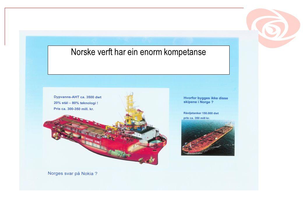 Norske verft har ein enorm kompetanse