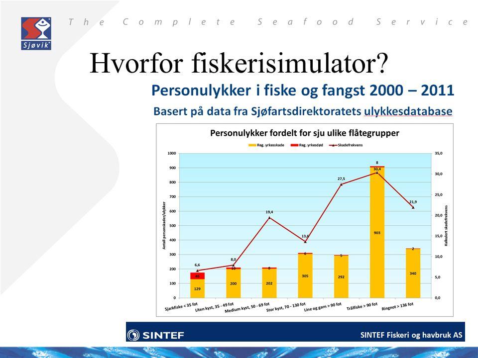 Hvorfor fiskerisimulator