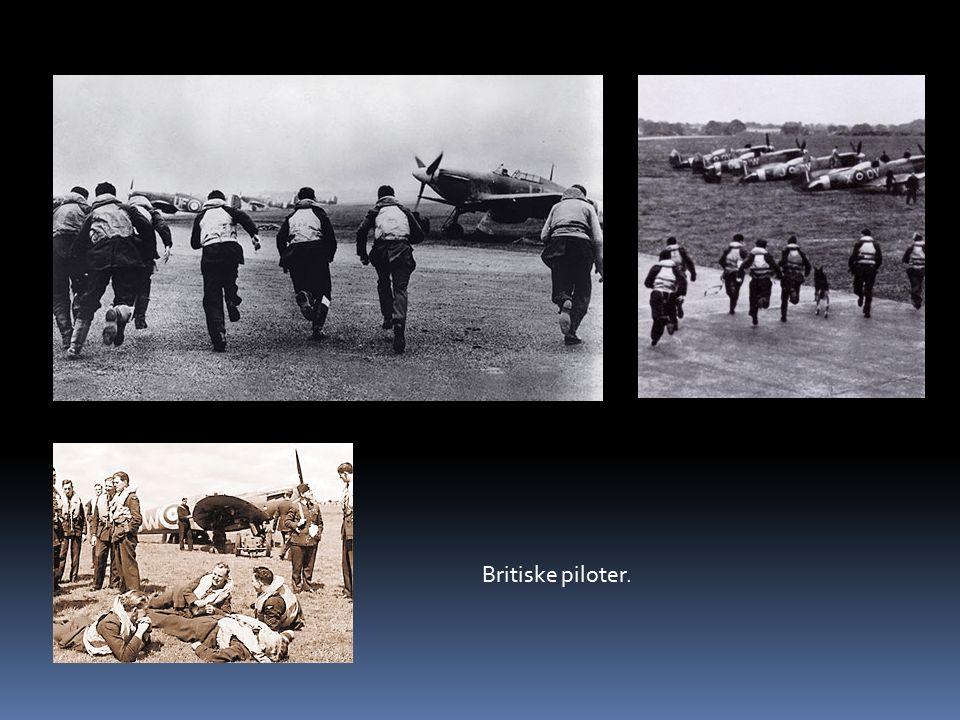 Britiske piloter.