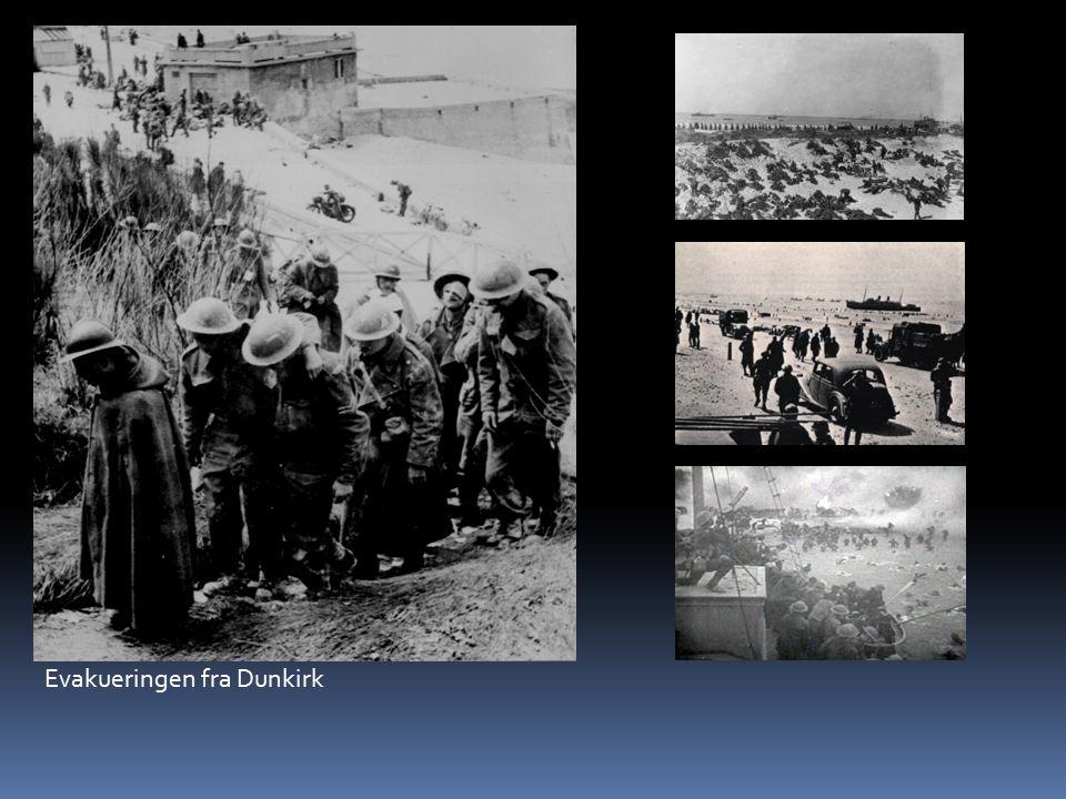 Evakueringen fra Dunkirk