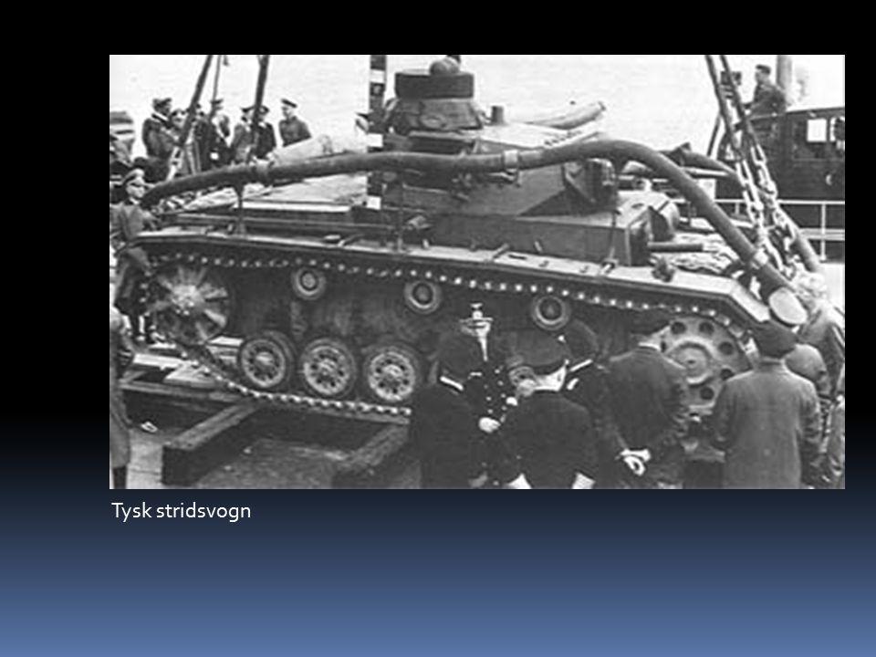 Tysk stridsvogn