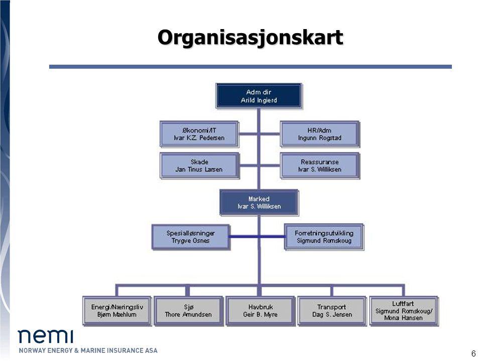 6 Organisasjonskart