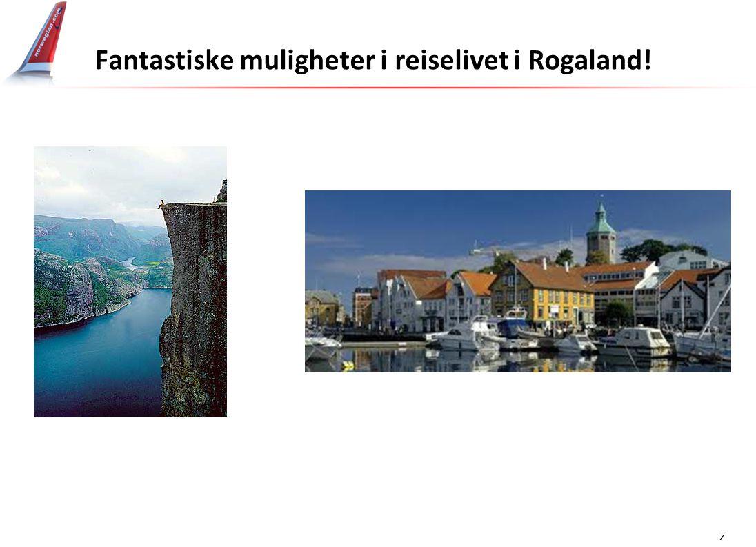 7 Fantastiske muligheter i reiselivet i Rogaland!