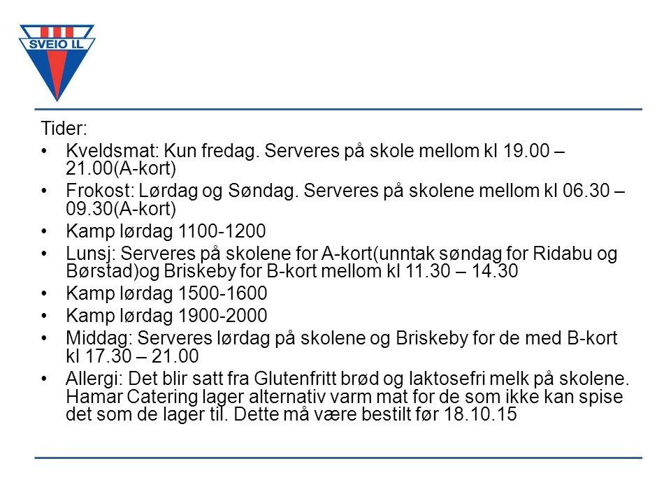 TidBaneHjemmelagBortelagResultat lø 24.okt 11:00-12:00 Briskeby Stadion, Kunstgress Bane 1.