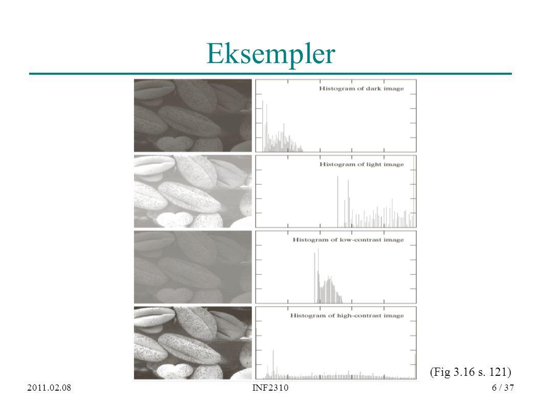 2011.02.08INF23106 / 37 Eksempler (Fig 3.16 s. 121)